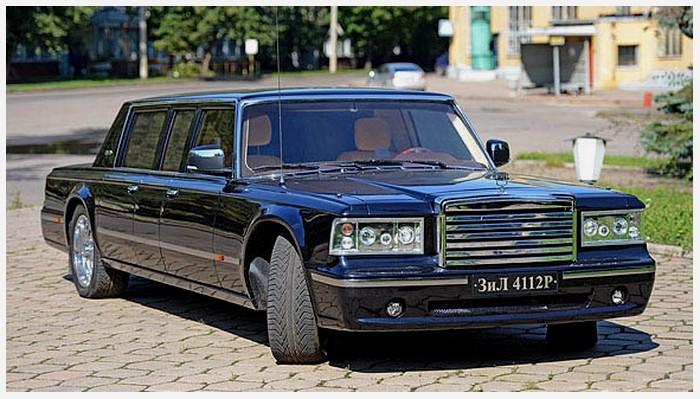 """""""Soviet-Limos"""" et """"Poutine-mobile"""" Zil-4112R.2"""
