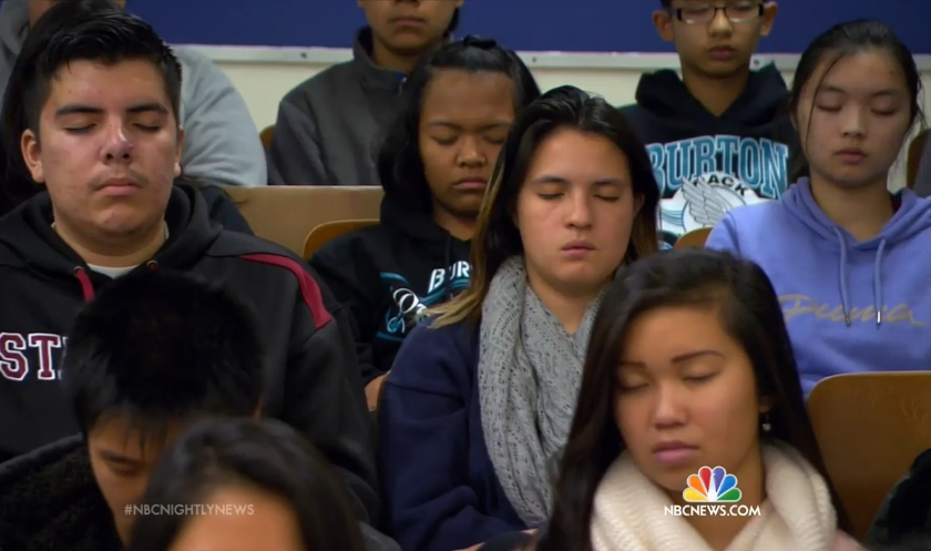 Something Remarkable Happened After These Troubled Grade School Students Were Taught Meditation Students-Meditation