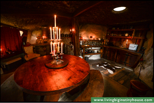 This One is for You Nannee! ~ The Magical Hobbit-Like Eco Cave House Cavehsedining