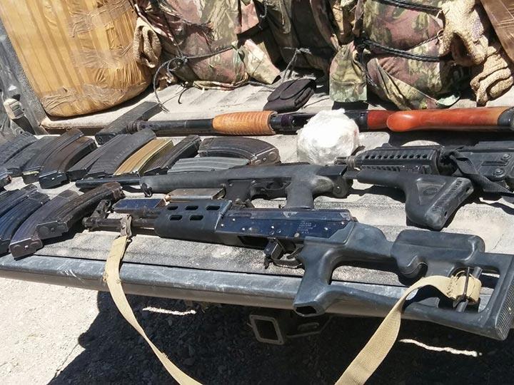 Sonora - Aseguran arsenal con seis mil cartuchos en Sonora 1695112