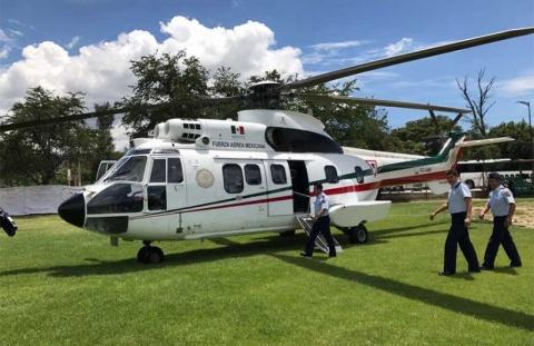 Ponen en Tierra los Helicópteros del Estado Mayor Presidencial (Flota de Super-Pumas). 1746381