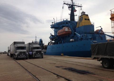 Buques de la Armada de México apoyando zonas de desastres - 1764957