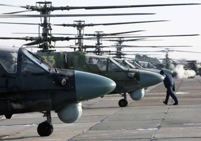 المروحيه الروسيه Ka-52  1013544517
