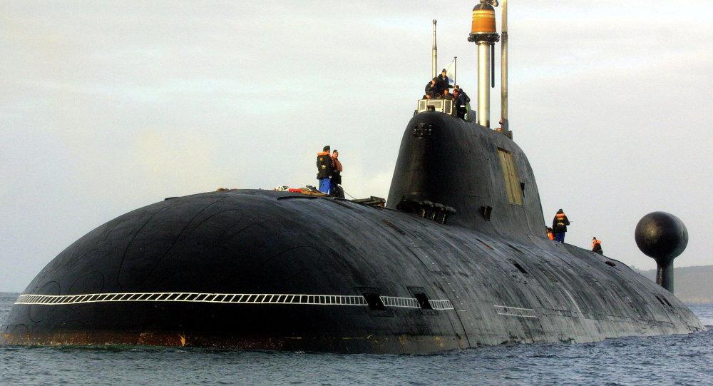 """الغواصة الروسية """"أكولا""""، قادرة على تدمير نصف أمريكا وكل أوروبا 1013784263"""