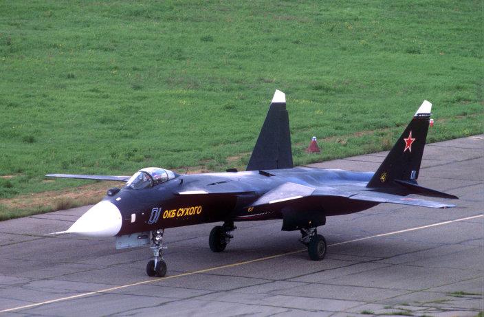 """روسيا حولت المقاتلة """"سو-47"""" الفريدة إلى أقوى مقاتلة شبحية فى العالم 1015338681"""