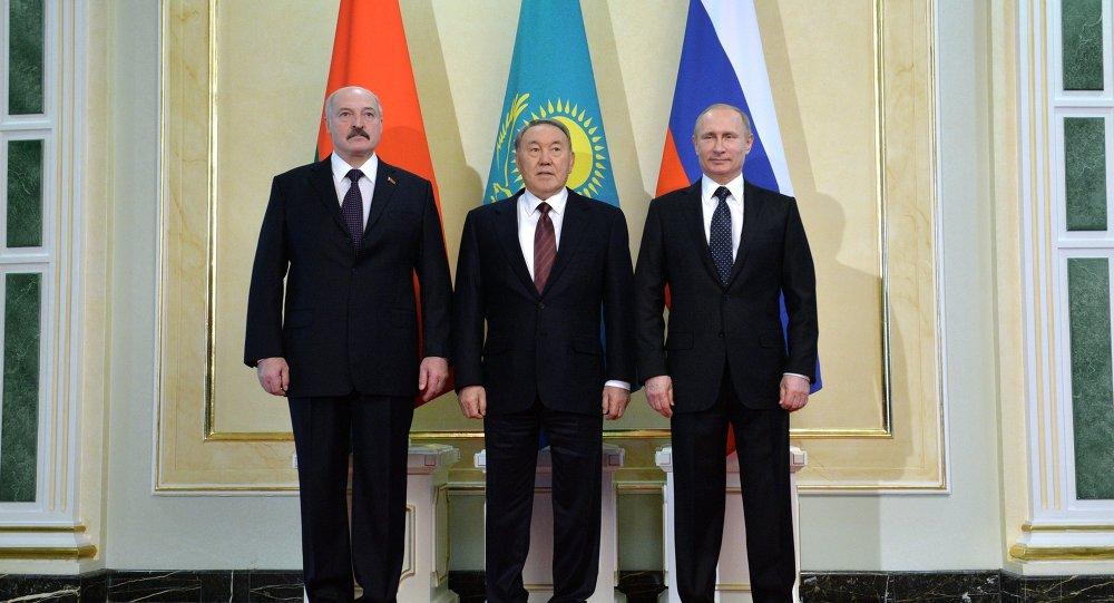 Unión - Unión Euroasiática - Moscú sella con Bielorrusia y Kazajstán la Unión Económica Euroasiática 1019767473