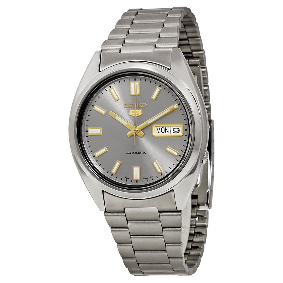 """Mini-revue Citizen Promaster BN0118-04E """"Ray Mears"""" Though Watch  Seiko-5-mens-automatic-watch-snxs75"""