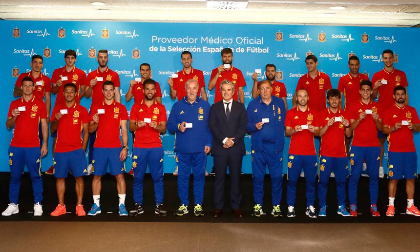 Hilo de la selección de España (selección española) Tarjetasanitassefeuro