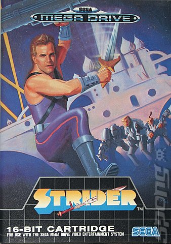 The best/worst retro Box art thread _-Strider-Sega-Megadrive-_