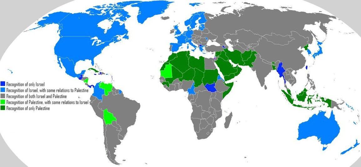 Débats et réactions sur l'actualité du jour - Page 5 Recognision_of_israel_and_palestine_world_map_by_saint_tepes-d561obp1