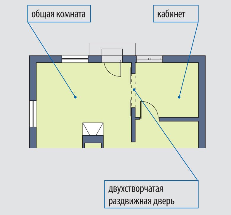 Наши жилища Razdvizhnye_dveri_mezhdu_dvumya_komnatami