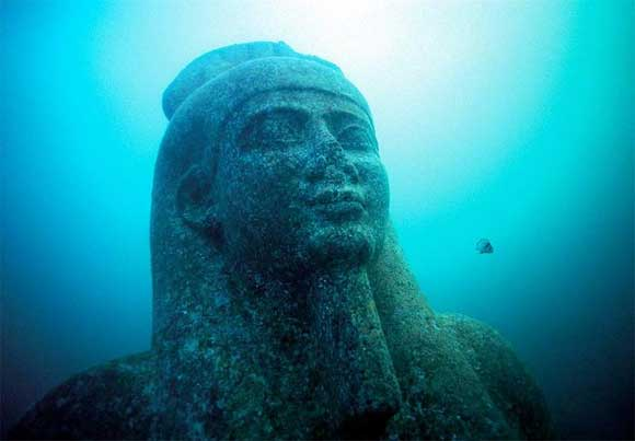 Ancient City Discovered Underwater Solves Enigma That Puzzled Egyptologists For Years Underwater-city9