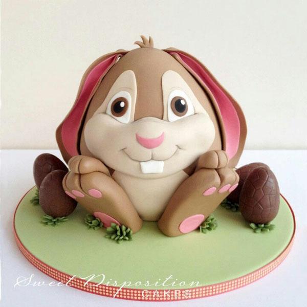 ¡¡¡Felicidades, Nestor y Emy!!! Bunnycake