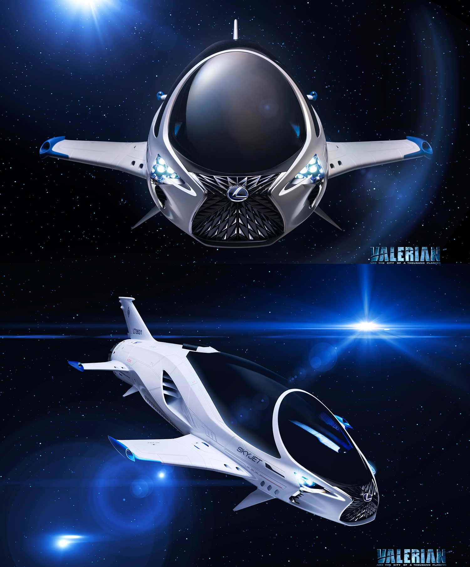 The United States of the Solar System, A.D. 2133 (Book Four) - Page 20 Lexus-x-valerian-skyjet-full-front