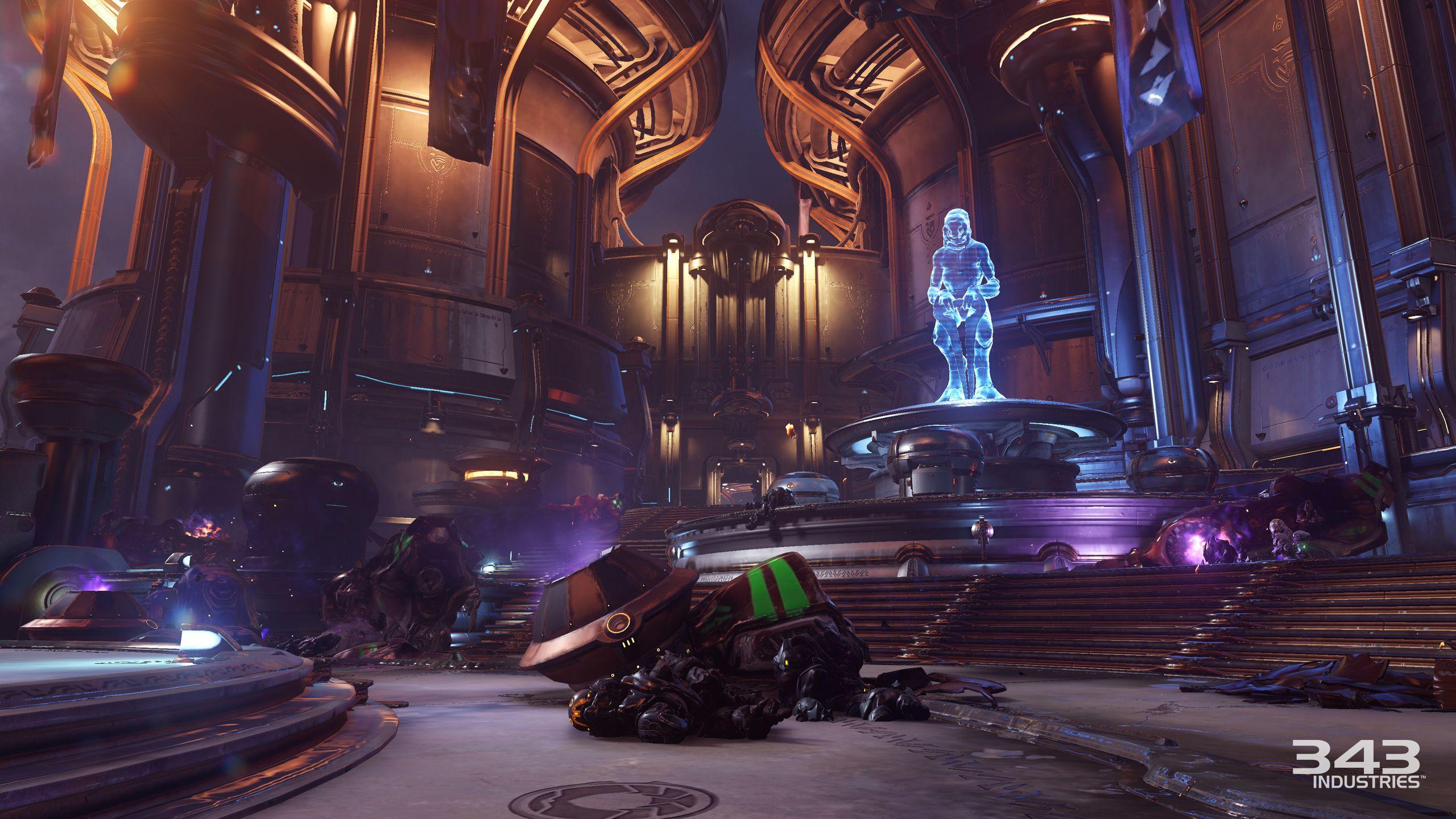 Halo 5: Guardians - Novas imagens do modo Warzone e da Campanha H5-guardians-establishing-campaign-battle-of-sunaion-wrecking-ball