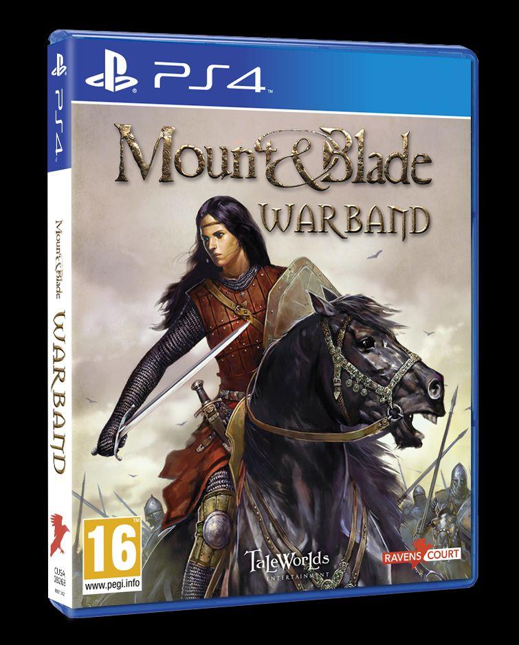 Mount & Blade Warband ya anunciado para PS4 y XboxOne PS4_MB_Warband_3D_pack_UKV
