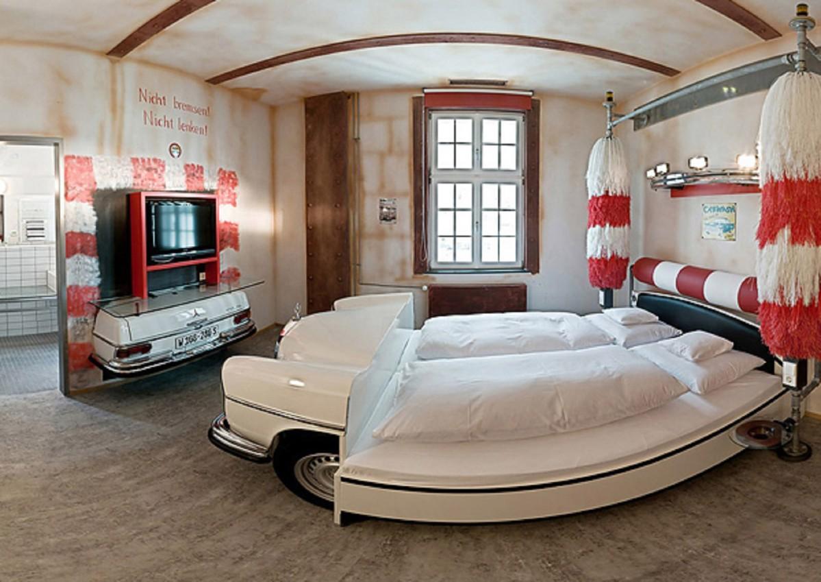غرف نوم اطفال على شكل سيارة P_1200_357378