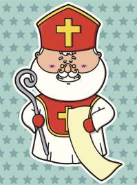 Saint Nicolas Et Le Pere Noel