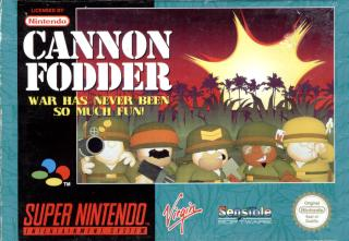 150 SNES games reviewed  - Page 2 _-Cannon-Fodder-SNES-_