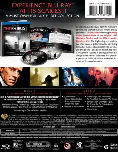 L'Exorciste Edition Limitée FNAC 1539639bh