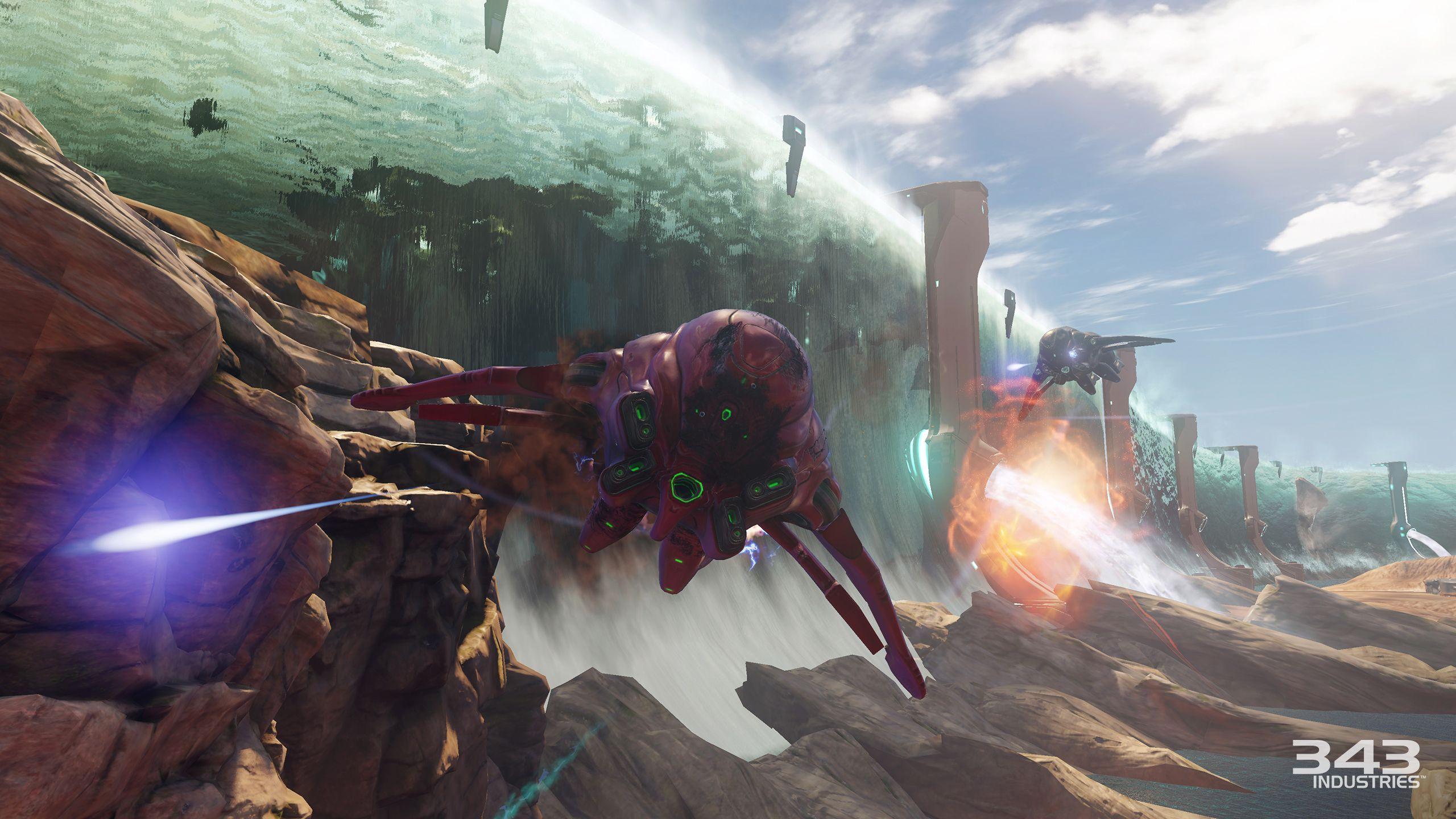 Halo 5: Guardians - Novas imagens do modo Warzone e da Campanha H5-guardians-warzone-arc-water-wall
