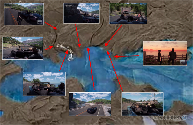 Final Fantasy XV's Map Size: it's Roughly an Enormous 780 Square Miles FFXV_Map_05-654x425