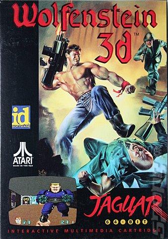 Les plus belles jaquettes du jeu vidéo - Page 5 _-Wolfenstein-3D-Jaguar-_