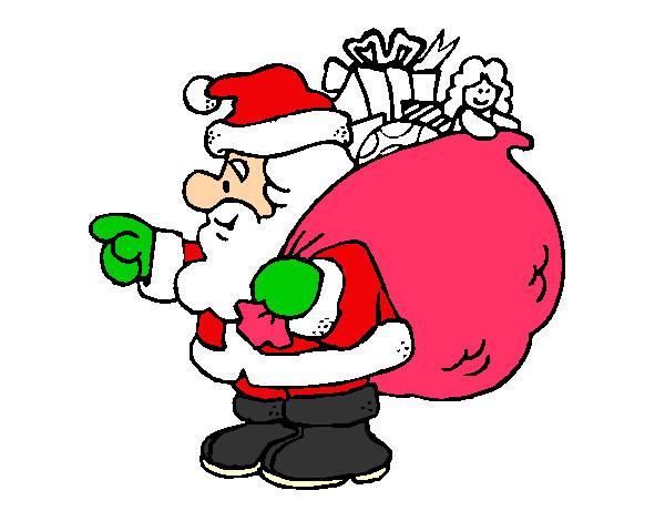Bienvenidos al nuevo foro de apoyo a Noe #301 / 15.12.15 ~ 22.12.15 - Página 5 Papa-noel-con-el-saco-de-regalos-1-fiestas-navidad-pintado-por-ultrablue-9789243
