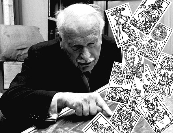 Carl Jung: las cartas del tarot brindan puertas al inconsciente y quizás una forma de predecir el futuro Jung-and-tarot