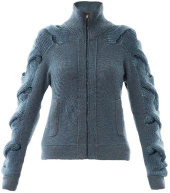 Provocare nr.8(tricotat)-Torsade Maison-martin-margiela-petrol-cabletwist-cardigan-product-3-13610898-459551964_medium_flex
