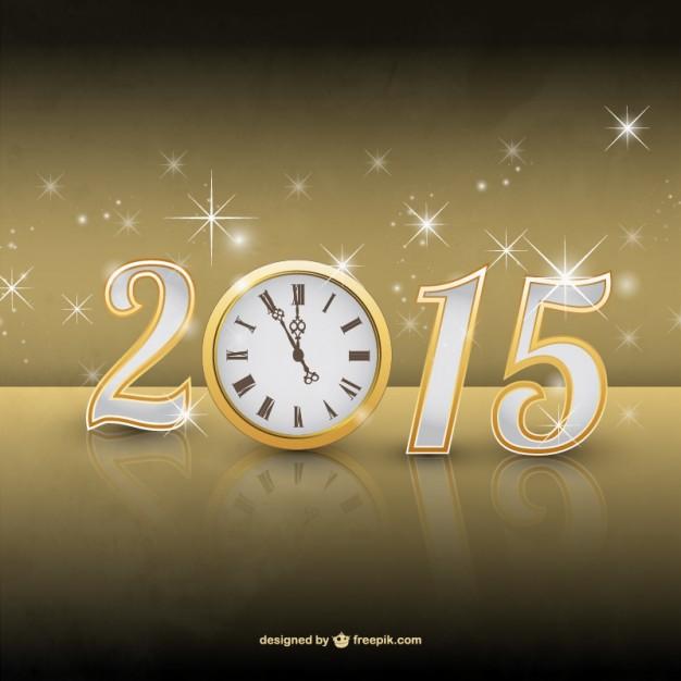 ♪♫♪QUE YA VIENE EL AÑOOOOO NUEVOOOOOOOOO ¡FELIZ AÑO NUEVO 2015!♪♫♪ Vector-de-ano-2015-con-destellos_23-2147498996