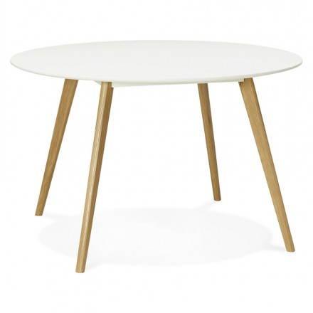 table ronde ou pas Table-a-manger-style-scandinave-ronde-millet-en-bois-blanc