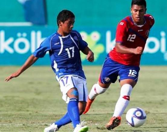 Eliminatoria Centroamericana 2014: El Salvador 1 Costa Rica 2. Sub-17-553x438