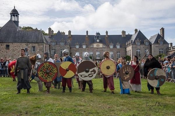 Fête médiévale château de Flamanville le 25-26/08/2018 Medievale-Flamanville-2-3