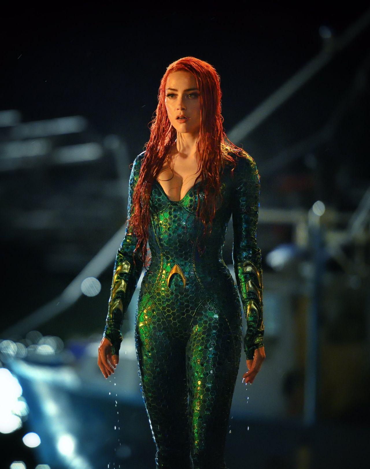 « Aquaman » : le tournage vient de commencer et des premières photos du film ont déjà été dévoilées ! Par Marine B. Amber-heard-aquaman-movie-photos-2018-1