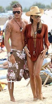 David Beckham....ayyyayyyaa Poo