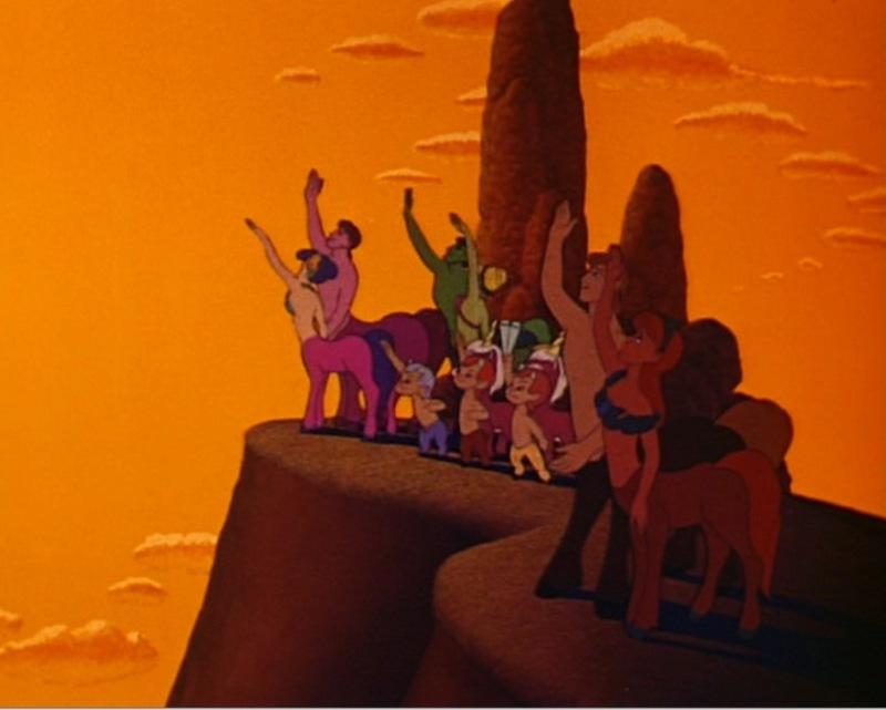 Les âges d'or des Walt Disney Animation Studios Centaurs-fantasia