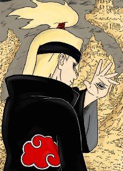 Test - personaje que te identifica de Naruto Deidara