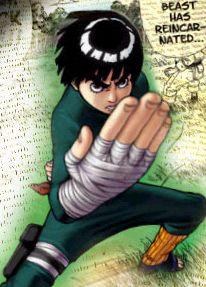 Test - personaje que te identifica de Naruto Rock_lee