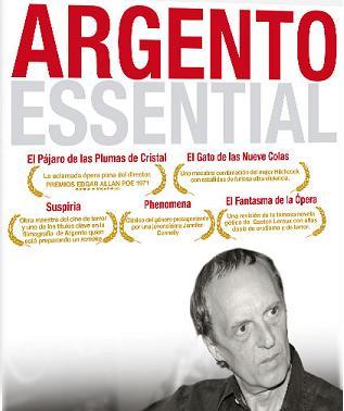 Darío Argento Darioargentoessential_dvd