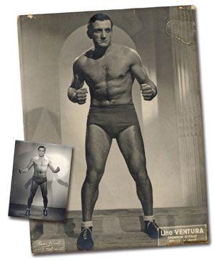 Lino Ventura ,champion d'Europe de catch Tiwetl0y