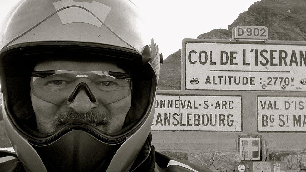 CR PHOTO LES GRANDS COLS J2 : COLS MADELEINE GLANDON ROSELAND ISERAN CENIS 40