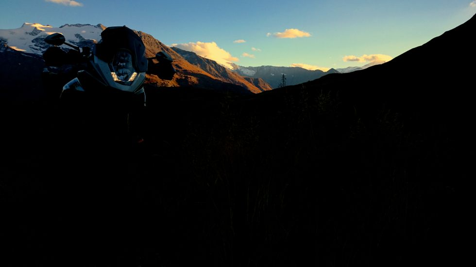 CR PHOTO LES GRANDS COLS J2 : COLS MADELEINE GLANDON ROSELAND ISERAN CENIS 42