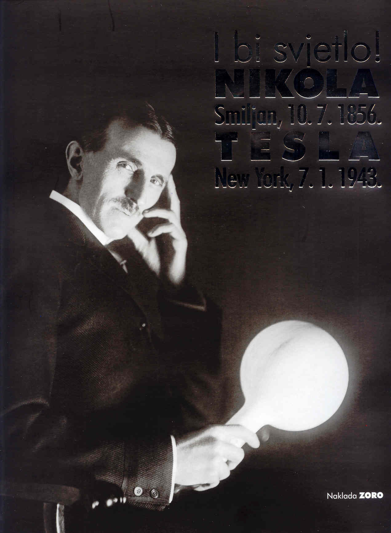 'The hand of Nicolas Tesla' : the first photograph ever taken by the light of the future! Nikola-tesla
