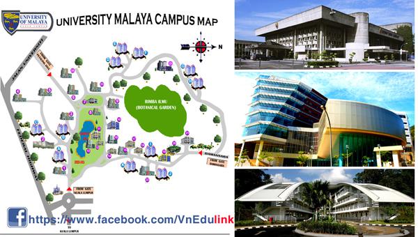 Đại học Malaya, Malaysia tuyển sinh du học hè 2014 Map01-copy_0c16a