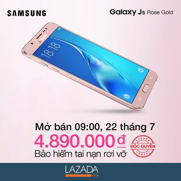 Mobile • Galaxy Samsung J5 - Điểm nhấn phong cách cho phái đẹp với màu vàng hồng thời thượng • http://i.imgur.com/I5ZKTAb.jpg • Gam màu vàng hồng quý phái, camera mạnh mẽ cùng bộ ứng dụng hữu ích... Img20160722092040188