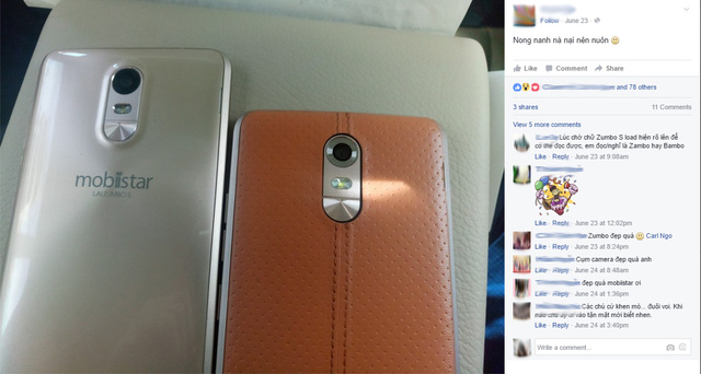 """Mobile • Cư dân Facebook hóng chuyện """"anh em Soái ca"""" nhà Mobiistar • http://i.imgur.com/f01VCrc.jpg • Trong tuần qua, Mobiistar đã hé lộ gần như toàn bộ thông tin về 2 sản phẩm sắp lên kệ với cùng... Img20160627105837974"""