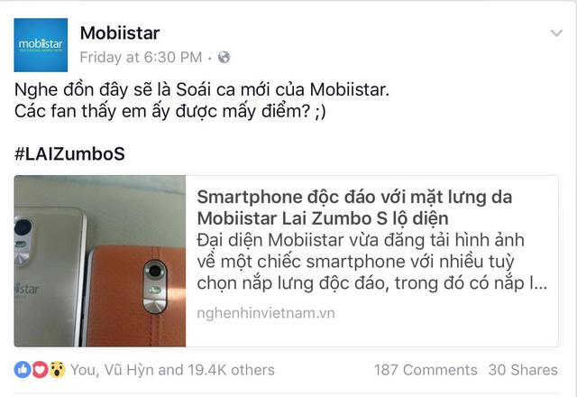 """Mobile • Cư dân Facebook hóng chuyện """"anh em Soái ca"""" nhà Mobiistar • http://i.imgur.com/f01VCrc.jpg • Trong tuần qua, Mobiistar đã hé lộ gần như toàn bộ thông tin về 2 sản phẩm sắp lên kệ với cùng... Img20160627105838168"""