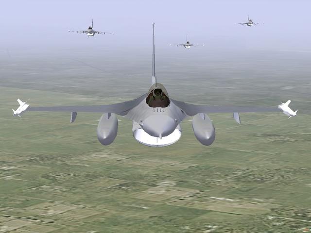 Formation F16 F16-8