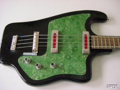 Instrumentos vintage brasileiros. I-1